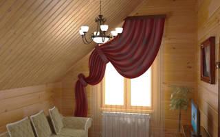 Чем оббить стены в деревянном доме?