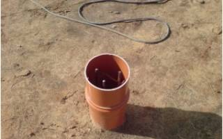 Как сделать фундамент из труб