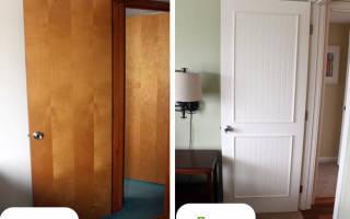 Как реставрировать старые межкомнатные двери?