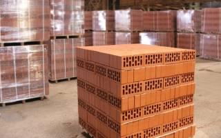 Сколько кубов в поддоне кирпича