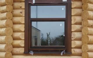 Чем крепить пластиковые окна в деревянном доме?