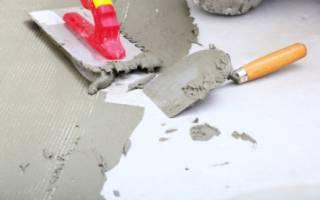 Как развести цемент без песка