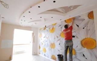Как клеить обои на гипсокартонные стены?
