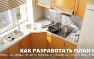Как правильно спланировать кухню в частном доме?
