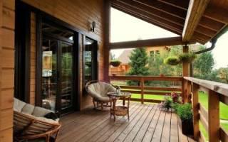 Как пристроить веранду к дому из бруса?