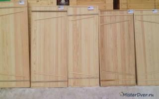 Дверь для бани своими руками из вагонки