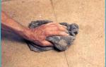 Как крепить ДСП к бетонному полу?