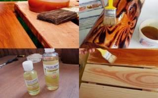 Пропитка древесины отработанным маслом