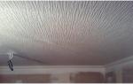 Как клеить стеклообои на потолок?