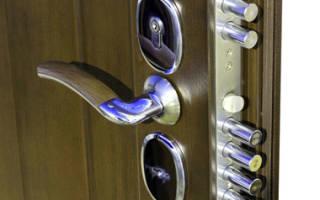 Как выбрать замок для входной металлической двери?