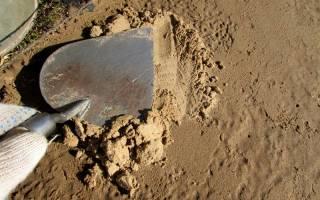 Какой песок нужен для тротуарной плитки