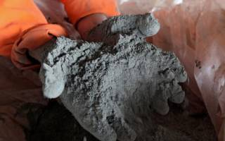 Как делают цемент и из чего
