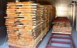 Сушка древесины в сушильных камерах технология