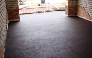 Как выровнять бетонный пол в гараже