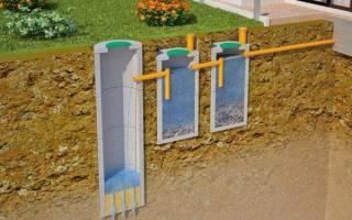 Как сделать септик из бетонных колец
