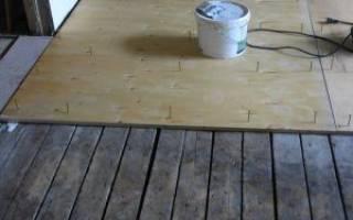 Как правильно стелить фанеру на деревянный пол?
