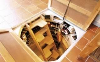 Как сделать крышку на погреб в доме?