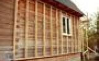 Как утеплить дом из профилированного бруса снаружи?