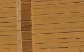 Как стянуть клееный брус стены?