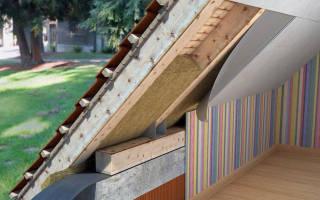 Чем лучше утеплить крышу в частном доме?