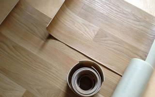 Как правильно постелить линолеум на деревянный пол?