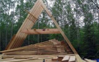 Как построить шалаш дома