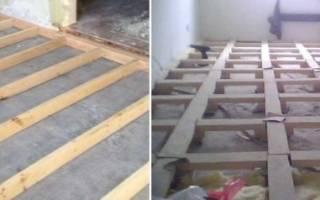 Как крепить брус к бетонной стене?