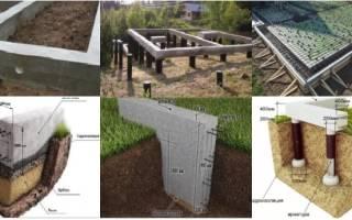 Какой фундамент лучше для дома из газобетона