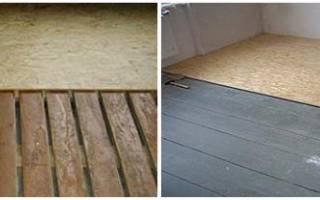 Как правильно положить ОСБ на деревянный пол?