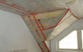 Как правильно укладывать пароизоляционную пленку на потолок?