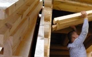 Как заложить окно в деревянном доме?