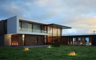 Как построить дом в стиле хай тек