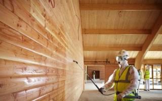 Способы защиты древесины от гниения и возгорания