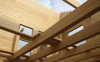 Как укрепить лаги пола в деревянном доме?