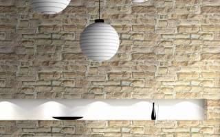 Как сделать стену из кирпича