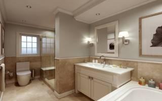 Как спланировать ванную комнату в частном доме?