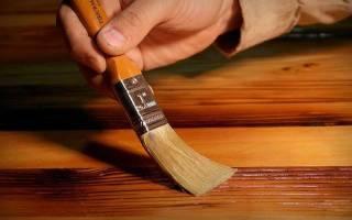 Масла для обработки древесины внутри помещения
