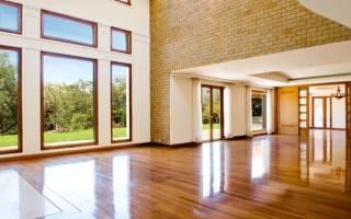 Каким лаком покрыть деревянный пол?