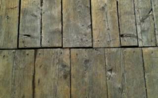 Как заменить полы в деревянном доме