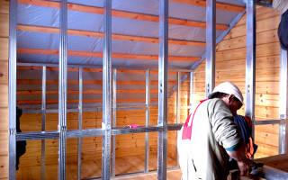Как сделать межкомнатные перегородки в деревянном доме?