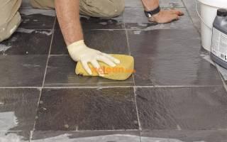Как очистить старый цемент