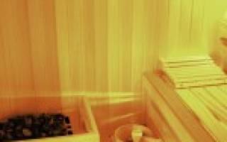 Чем покрыть вагонку в бане в парилке?