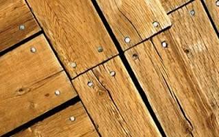 Чем лучше заделать щели в деревянном полу?